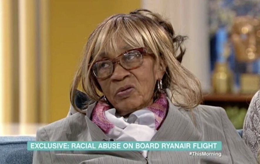 Ryanair passenger who racially abused Windrush immigrant on flight identified by police