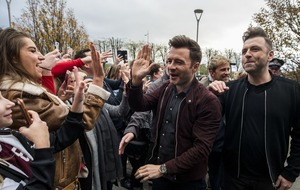 Westlife enjoys 'spectacular' fan reaction as they launch reunion tour
