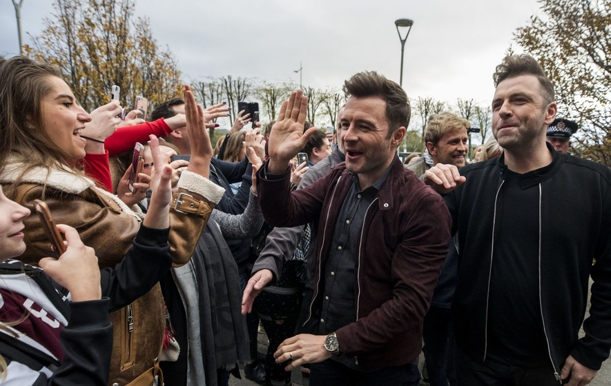 Westlife enjoys 'spectacular' fan reaction as they launch