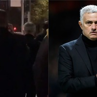 Watch Jose Mourinho walk to Old Trafford ahead of Champions League defeat