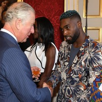 Tinie Tempah among famous faces of West African descent at royal event