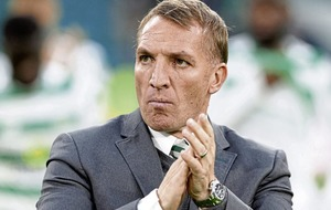 Brendan Rodgers urges his Celtic side to play without fear against Leipzig