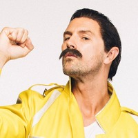 That's some top gear! Paddy McGuinness dresses up as Freddie Mercury