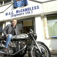 Blue plaque honour for man who changed face of motorbikes