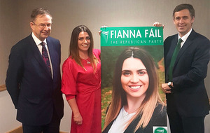 Fianna Fáil announces Sorcha McAnespy as first local election candidate in north