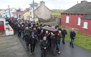 Funeral of Patsy Dan Rodgers hears he was 'Minister for Tory'