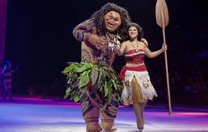 Disney fans are invited to dream big as Moana and friends skate into Belfast