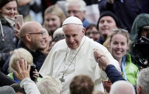 Pope Francis blamed for fall in Dublin Zoo visitors