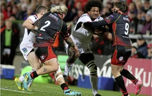 Robert Balacoune enjoys his Ulster debut in win over Dragons