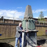 Cenotaph to railway workers who died in the First World War to become visible again