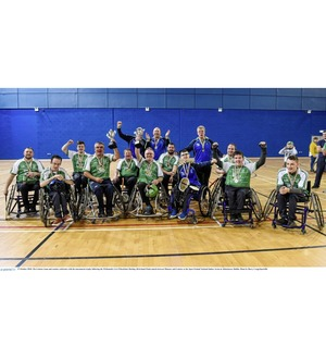 Leinster claim wheelchair hurling honours