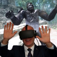 Politicians try out virtual reality therapy