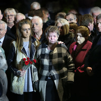 Greysteel families hold vigil to mark 25th anniversary of massacre