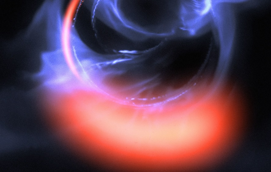 In the heart of the milky Way discovered a black hole - scientists