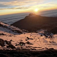 'Baby' Banjo climbs Kilimanjaro for the Children's Hospice