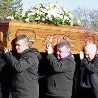 Former champions among mourners at boxing coach Paul McCullagh's funeral