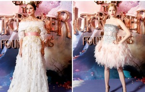 Keira Knightley and Ellie Bamber nail fairytail chic at Nutcracker premiere