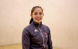 Catriona Casey on the winning handball trail in Arizona