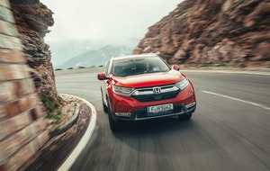 Honda CR-V: Now with added room