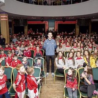 Video: Footballer of the Year Brian Fenton renews acquaintances with Derry club Rossa a decade on
