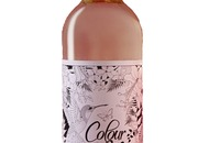 Wine: Get your paints out with a wine label that's designed to be coloured in