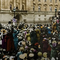 These remarkable images show the end of the First World War in colour