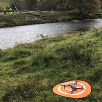 Engineers use drone to connect remote property to broadband