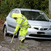 Flooding causes havoc for commuters with weather warning extended across Northern Ireland