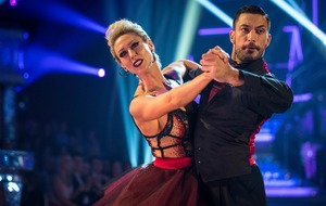 Steps star Faye Tozer aching after Strictly tango