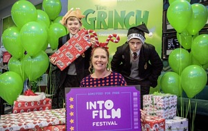 Children enjoy premiere of Grinch as Into Film festival opens