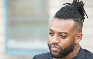 Ex-JLS star Oritse Williams poses for fans' selfies after denying rape charge