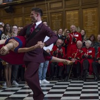 Strictly stars dance for Chelsea Pensioners ahead of Remembrance Day
