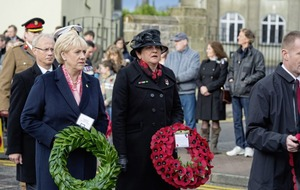 Armistice Day commemorations held across the north