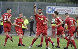 Cliftonville manager Barry Gray rules out selling Joe Gormley