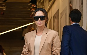 Victoria Beckham reflects on fashion career as she picks up icon award