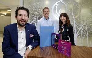 Hat-trick of awards for Business School graduate Keith
