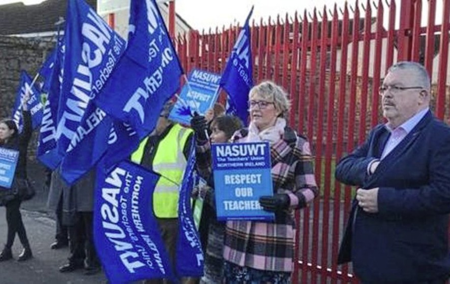 Teachers out on strike - and more days of action are planned