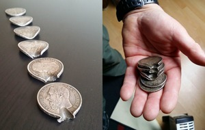 How this stack of coins saved a First World War soldier's life
