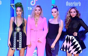 Little Mix naked and covered in insults in dramatic new image