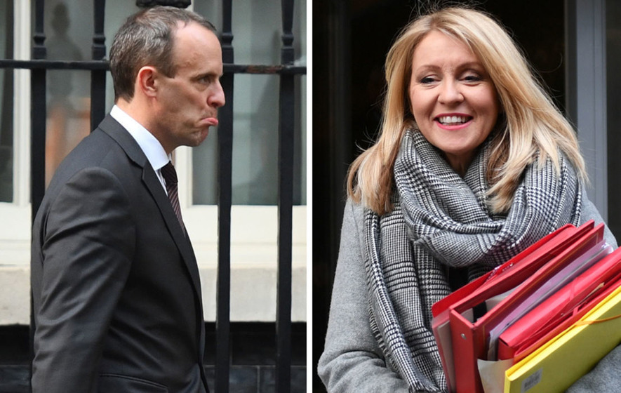 Dominic Raab and Esther McVey resign from British cabinet over Brexit deal