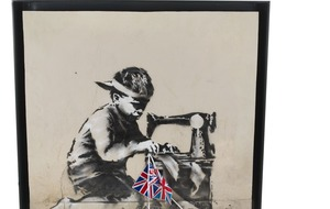 American artist buys Banksy painting then vows to whitewash it