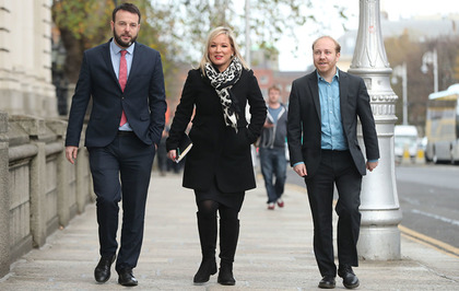 Unionists absent as north's politicians meet Leo Varadkar for Brexit talks