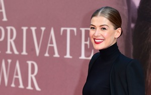 Rosamund Pike having most meaningful moment of career with Marie Colvin role