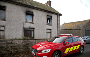 Man dies and five firefighters injured in house fire near Toomebridge