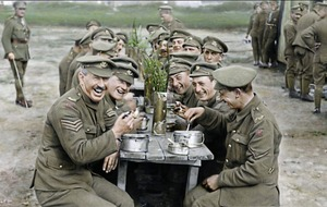 TV review: Colourised film brings out the humanity of the destruction of the Great War
