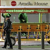 Man who fell from 'party bike' in Belfast dies