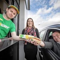 Subway opens north's first drive-thru sandwich restaurant