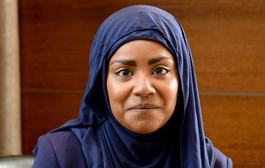 Nadiya Hussain says she has to prove herself as 'brown, a woman, and Muslim'