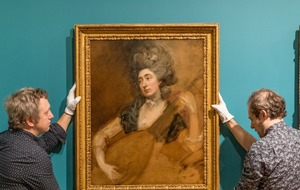 Gainsborough painting rediscovered after notice placed in magazine