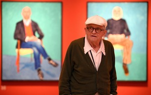 Record-breaking David Hockney is one of Britain's best-loved artists